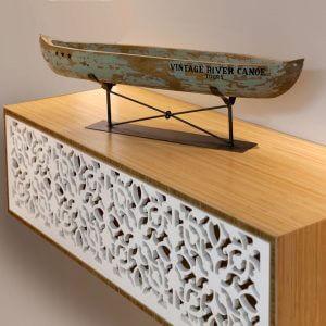 עיצוב בשילוב של עץ וקוריאן