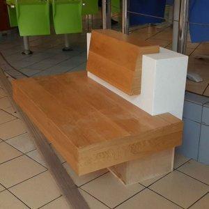 ספסל קוריאן עם עץ